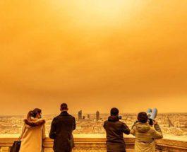 песок, Франция, Сахара, Африка, небо,