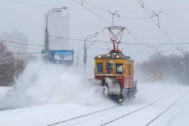 снег, Москва,