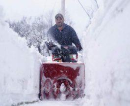 снег, Нью-Джерси,