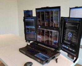 Expanscape Aurora 7, ноутбук, 7 экранов,