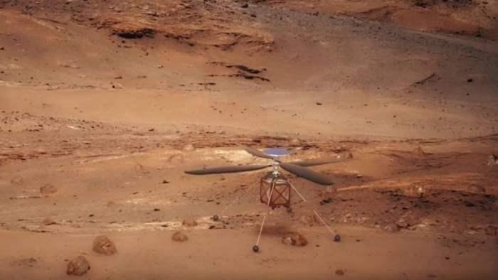 Ingenuity, Марс, вертолет,
