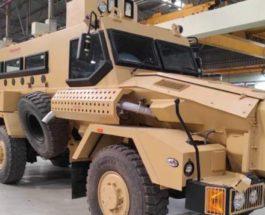 Mahindra, бронированные машины, IDEX-2021,