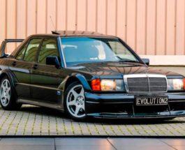 Mercedes-Benz 190E Evolution II, Мерседес,