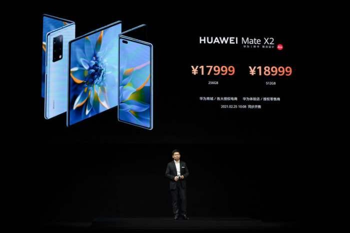 Huawei Mate X2, смартфон,