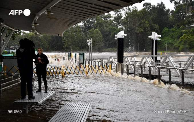 Австралия, наводнение,