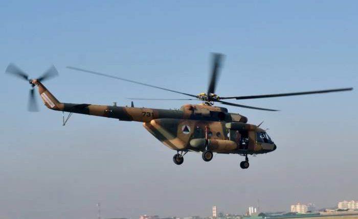 Афганистан, вертолет,