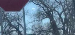 Загадочный объект снят в небе над Вичитой