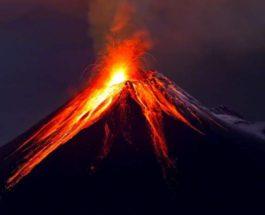 Вулкан, Индонезия,