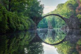 Германия, Чертов мост,