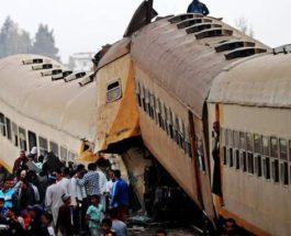 Египет, поезд, авария,