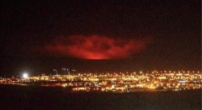 Исландия, вулкан, извержение,