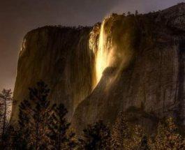 Йосемити, водопад, Конский Хвост,