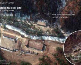 КНДР, спутниковые снимки, Северная Корея, ядерное оружие,