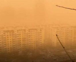 Китай пыль