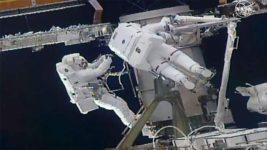 МКС, астронавты, космос,