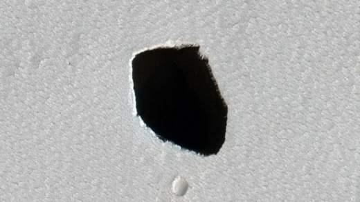 Марс, пещера,