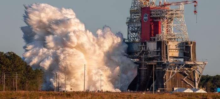 НАСА, SLS, ракета, двигатели,