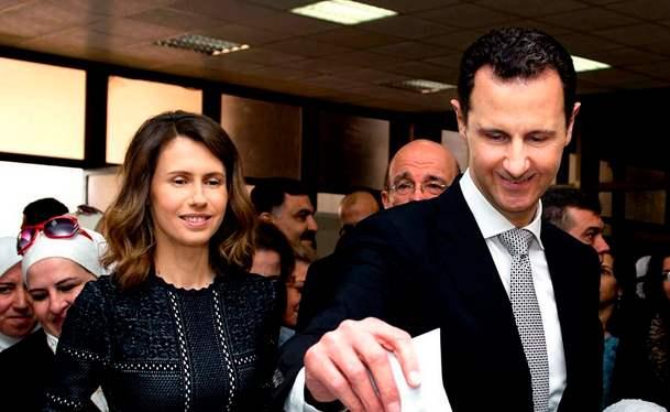 Президент Сирии, Асад, Коронавирус,