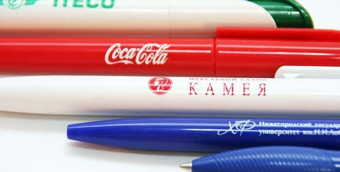 Тампопечать, ручки,