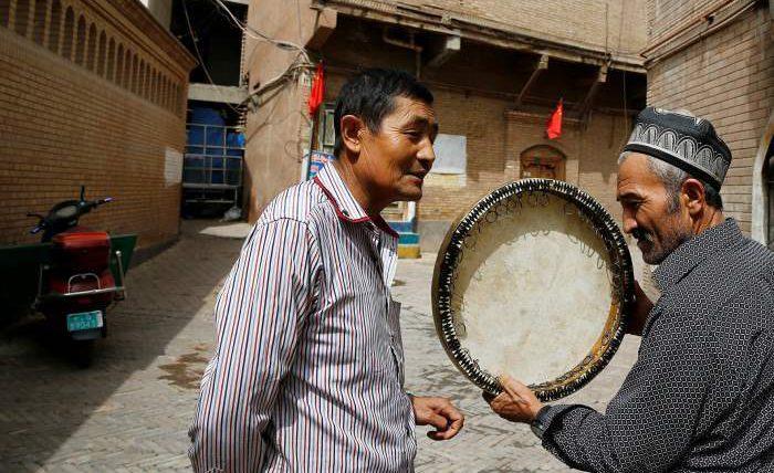 Уйгурский автономный район,