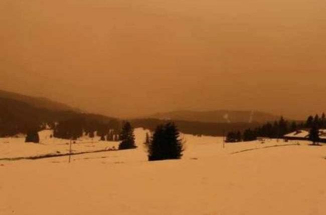 Франция, Сахара, радиация, пыль, радиоактивная пыль,