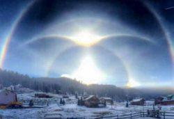 В небе над Шарлеруа появилось знамение от Бога
