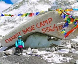 Эверест, базовый лагерь, 2021,
