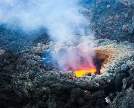 Этна, вулкан, извержение,