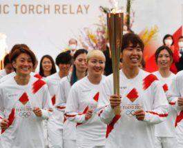 Япония, Олимпийский огонь, Олимпийские игры,