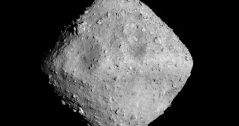 астероид, Рюгу, выстрел,