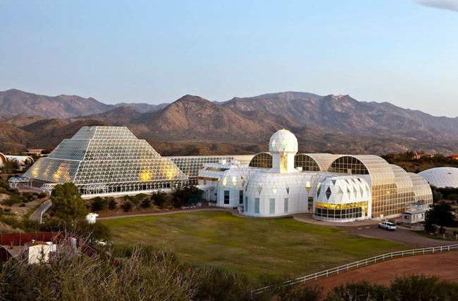 биосфера, проект, Аризона, купол,