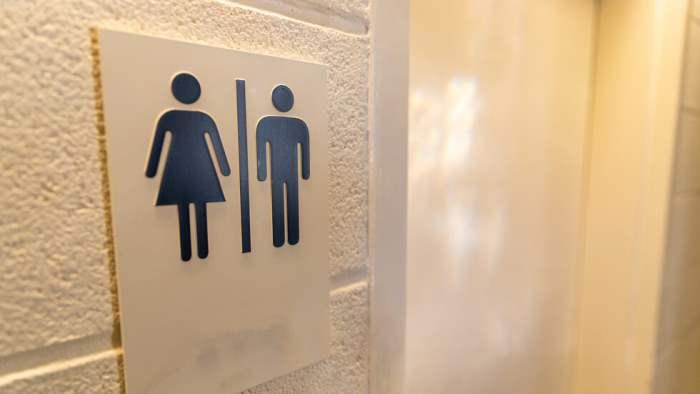 городской туалет, Ванкувер, Канада,