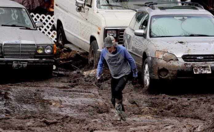 грязь, Калифорния,
