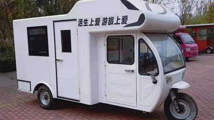 дом на колесах, Китай, электрический,