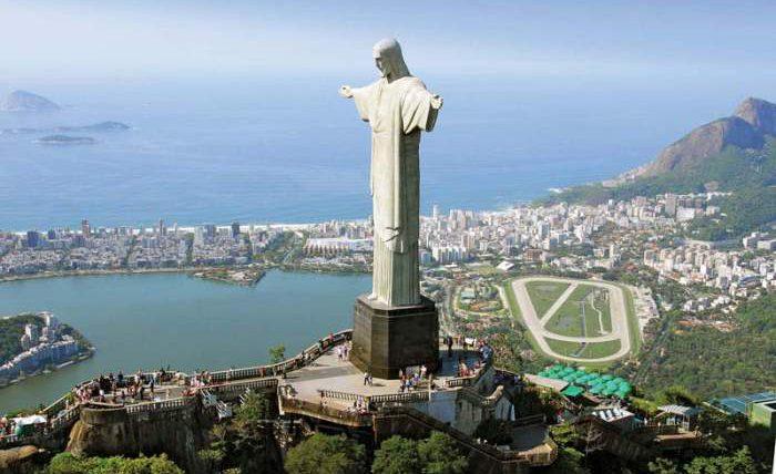 капитальный ремонт, статуя Иисуса Христа, Рио-де-Жанейро,