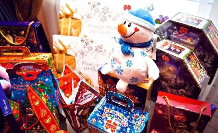 конфеты подарки