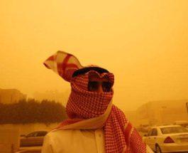саудовская аравия песчаная буря