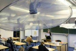 В школе в Германии устанавливают инновационную систему вентиляции от вирусов (ВИДЕО)
