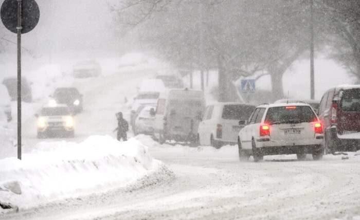 снег, Финляндия,