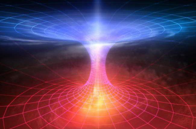 червоточины, пространство-время, физика,