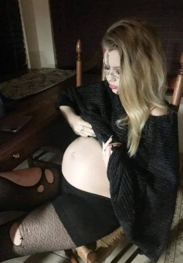 13 лет, беременность, молодая мама, роды,