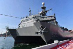 Япония спустила на воду новый корабль наблюдения за океаном