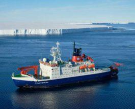Polarstern, гигантский айсберг, Антарктида,