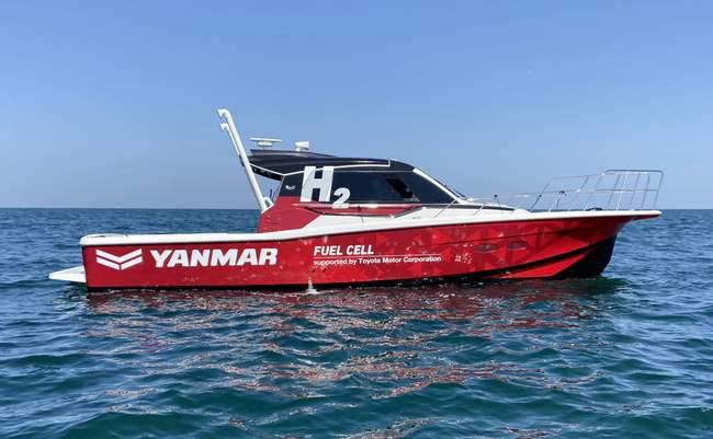 Yanmar, лодка, водородная лодка,