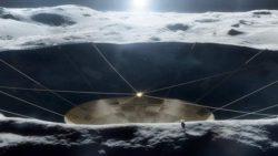 НАСА разрабатывает план по созданию на Луне телескопа типа Аресибо