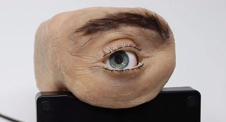 Веб-камера, глаз, Eyecam,