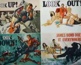 Джеймс Бонд, постер, аукцион,