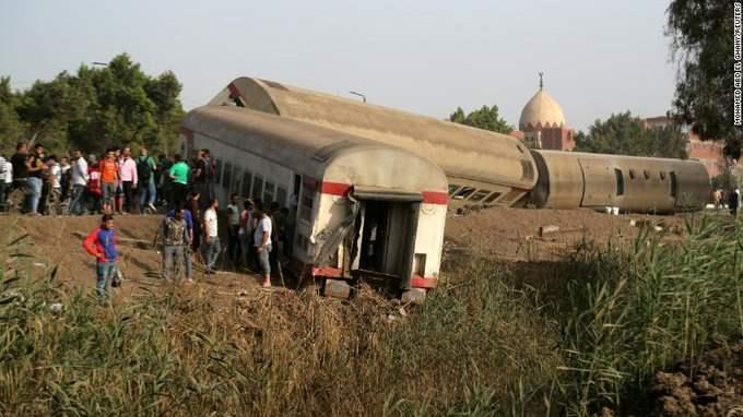 Египет, поезд,