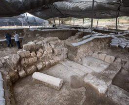 Израиль, церковь, раскопки,