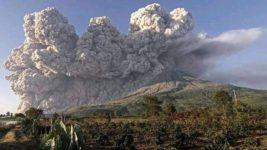 Индонезия, вулкан, излучение,